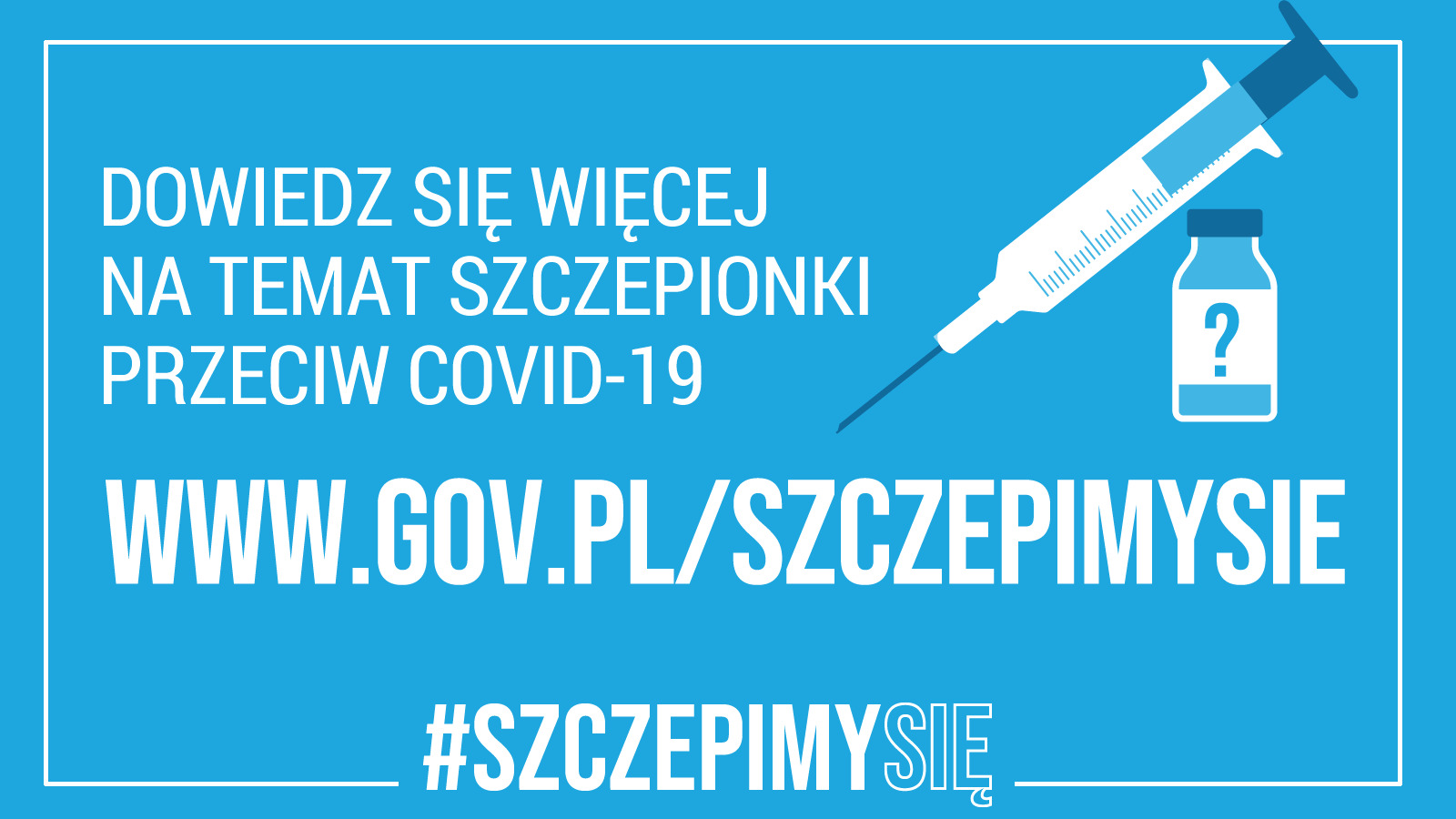 Dowiedz się więcej na temat szczepionki przeciw COVID-19, www.gov.pl/szczepimysie